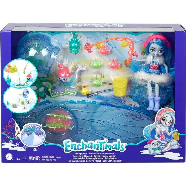 Игровой набор Enchantimals Fishing Friends Любители Рыбалки, GJX48