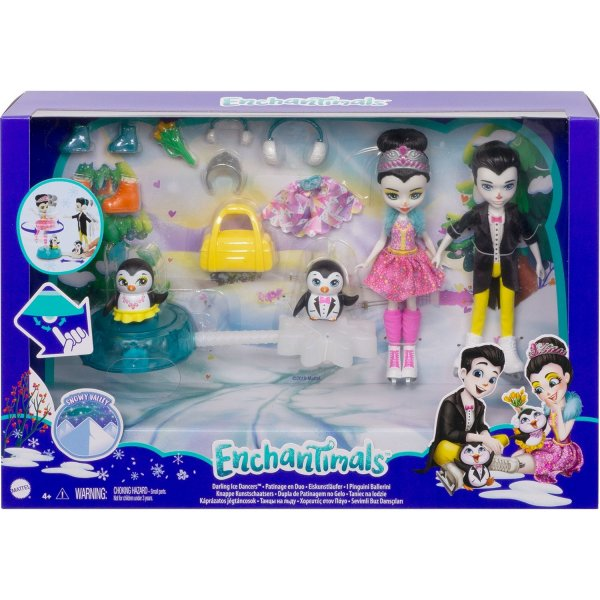 Игровой набор Enchantimals Darling Ice Dancers Танцы на льду, GJX49