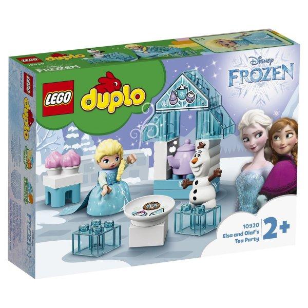 Набор Лего Конструктор LEGO DUPLO 10920 Чаепитие у Эльзы и Олафа