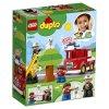 Набор лего - Конструктор LEGO DUPLO 10901 Пожарная машина