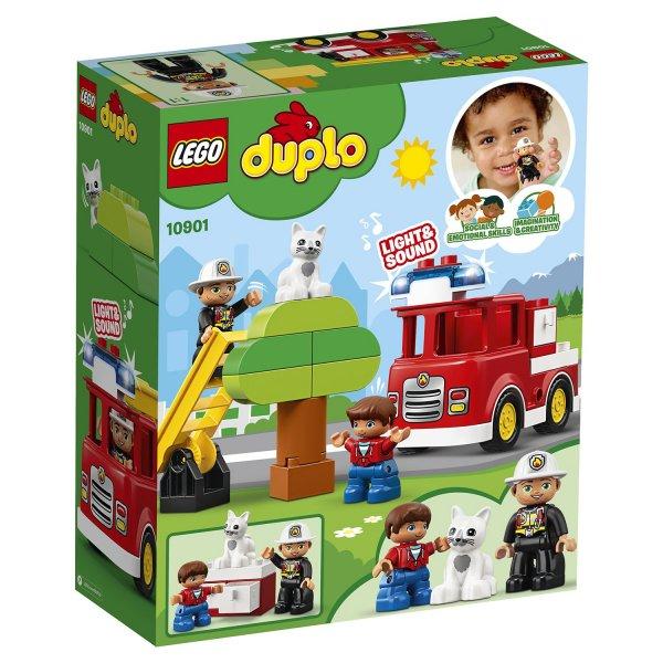 Набор Лего Конструктор LEGO DUPLO 10901 Пожарная машина
