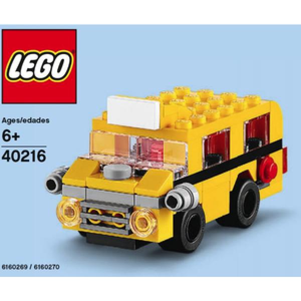 Набор Лего Конструктор LEGO Promotional 40216 Школьный автобус