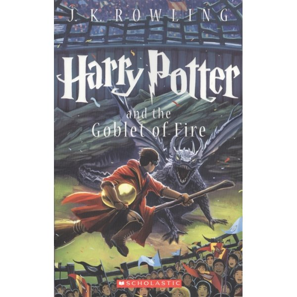 J. K. Rowling Harry Potter and the goblet of fire. Part 4 (Scholastic)
