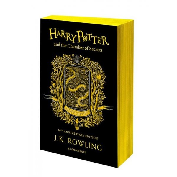 J. K. Rowling Harry Potter and the Chamber of Secrets. Hufflepuff