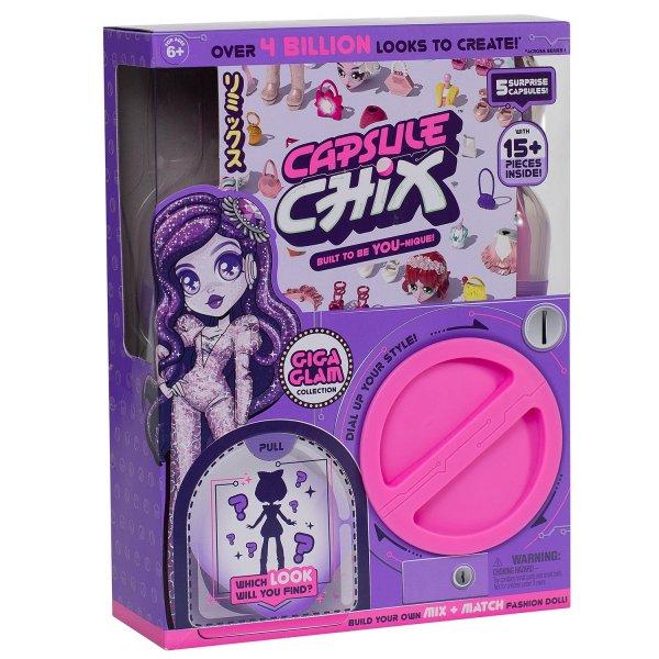 59201 Кукла Capsule chix Гига Глэм в непрозрачной упаковке (Сюрприз) 59201
