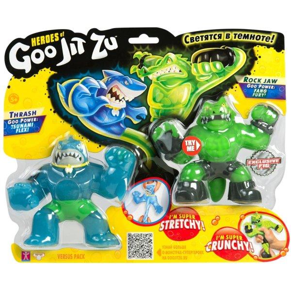 37336 Игровой набор GooJitZu GooJitZu Траш и Рок Джо 37336