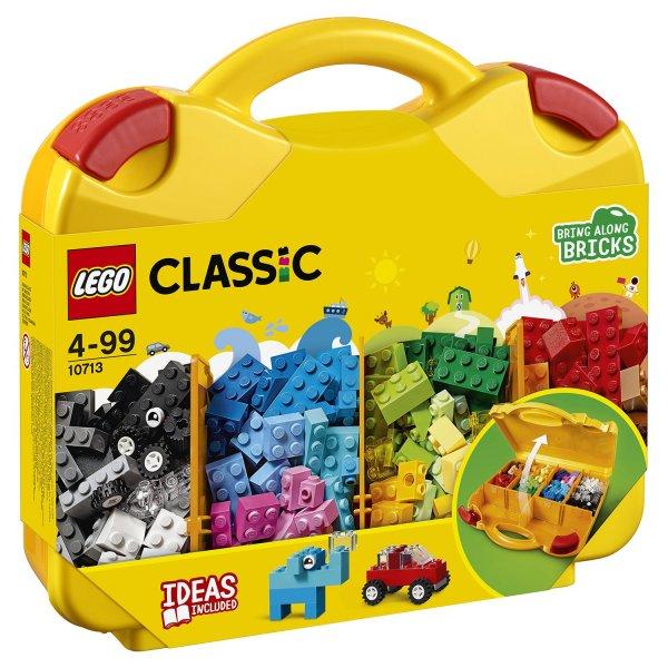 Набор Лего Конструктор LEGO Classic 10713 Чемоданчик для творчества
