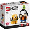Набор лего - Конструктор LEGO BrickHeadz 40378 Гуфи и Плуто