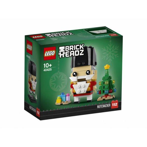 Набор Лего Сувенирный набор LEGO BrickHeadz 40425 Сувенирный набор Щелкунчик