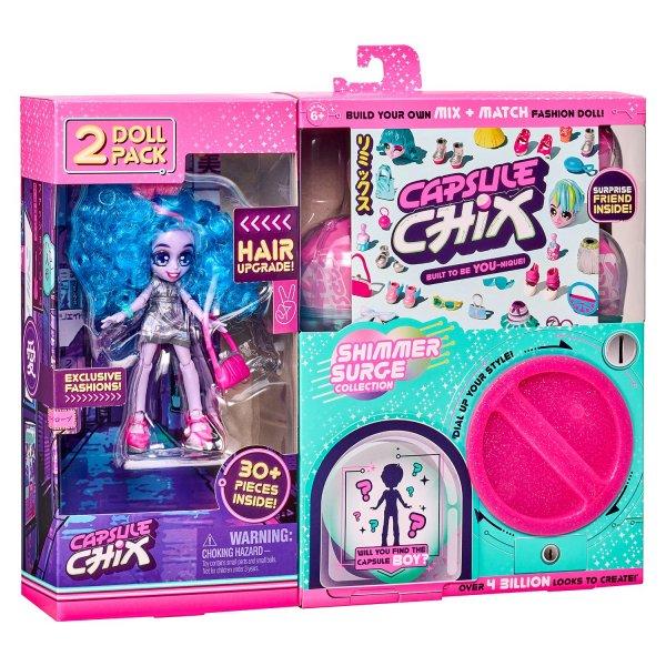 59209/59228 Набор кукол Capsule chix Мега Блеск 2шт в непрозрачной упаковке(Сюрприз) 59209