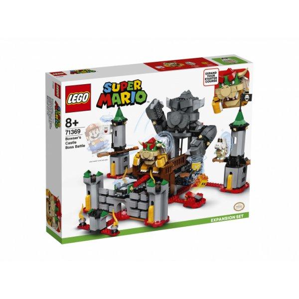 71369 Конструктор LEGO Super Mario 71369 Дополнительный набор Решающая битва в замке Боузера