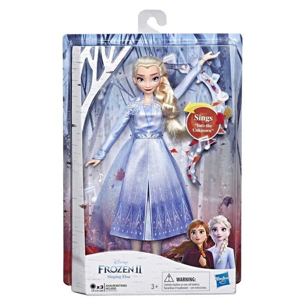 E6852/E5498 Интерактивная кукла Hasbro Disney Холодное сердце 2 Поющая, E5498