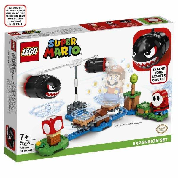 Лего Конструктор LEGO Super Mario 71366 Дополнительный набор Огневой налёт Билла-банзай LEGO Super Mario - купить в Москве по низкой цене, отзывы, характеристики