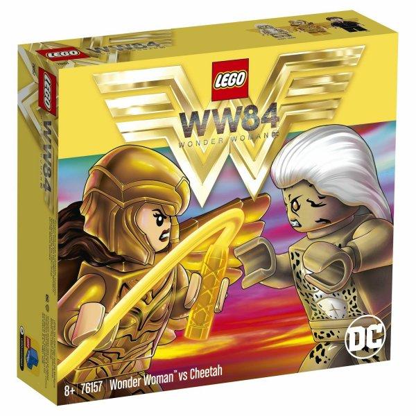 Набор Лего LEGO DC Super Heroes 76157 Чудо-женщина против Гепарды