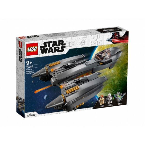 Набор Лего LEGO Star Wars 75286 Звёздный истребитель генерала Гривуса