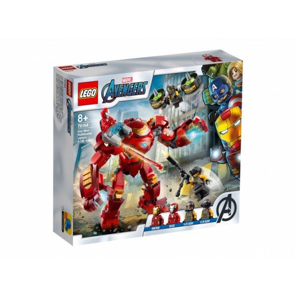 Набор Лего Конструктор LEGO Marvel Super Heroes 76164 Avengers Movie 4 Халкбастер против агента А.И.М.