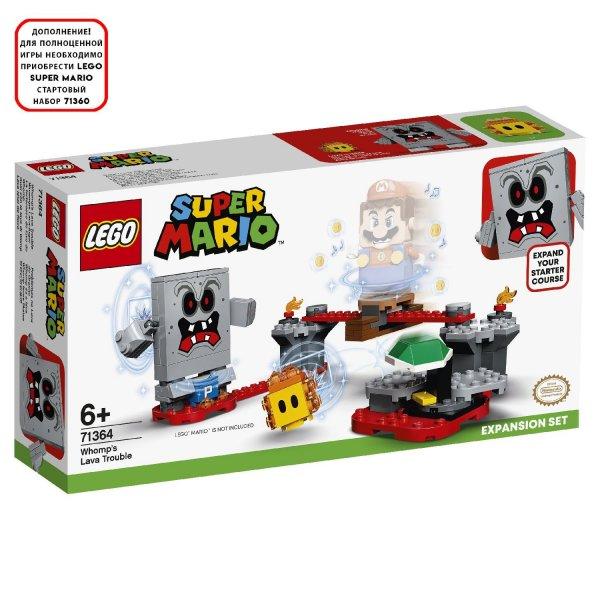 Конструктор LEGO Super Mario 71364 Неприятности в крепости Вомпа