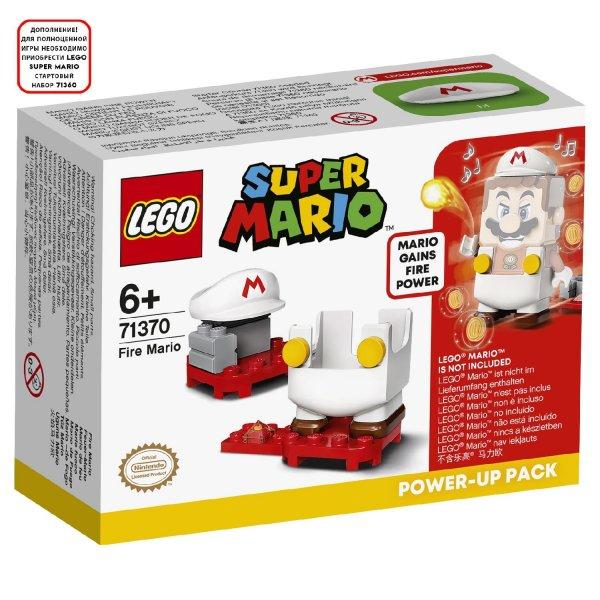 Конструктор LEGO Super Mario 71370 Набор усилений Марио-пожарный