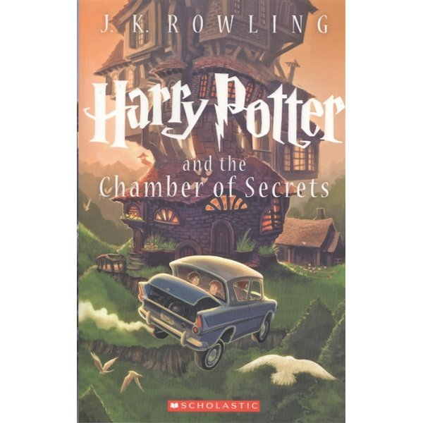 J. K. Rowling Book 2 Harry Potter and the Chamber of Secrets (Scholastic)