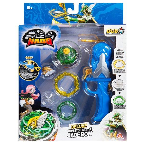 37705 Игровой набор Alpha Toys Infinity Nado - Jade Bow 37705
