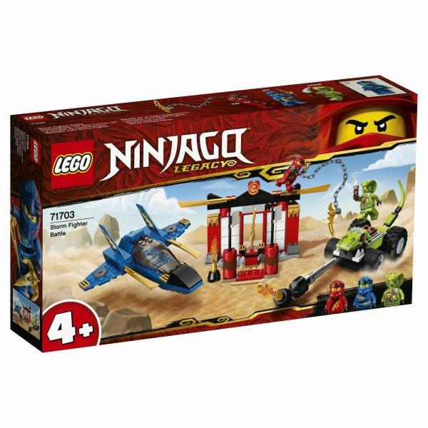 Набор Лего Конструктор LEGO Ninjago 71703 Бой на штормовом истребителе