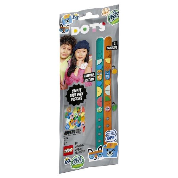 41918 Конструктор LEGO DOTS 41918 Браслеты Приключения