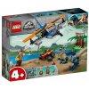 Набор лего - Конструктор LEGO Jurassic World 75942 Велоцираптор: спасение на биплане