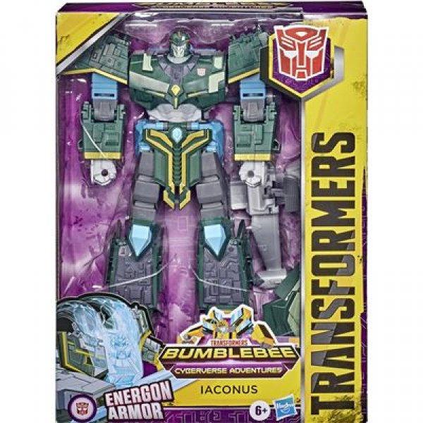 E7114/E1885 Игрушка Hasbro - Transformers Bumblebee Cyberverse Adventures Ultimate Iaconus E7114/E1885