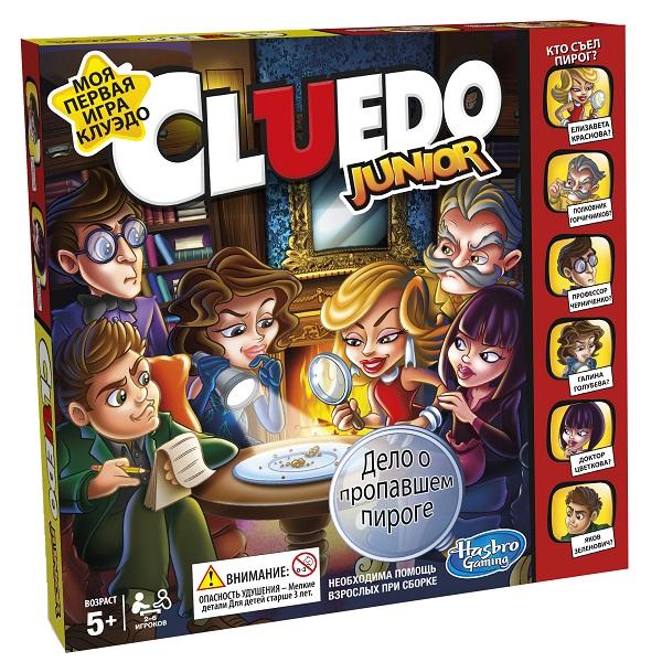 Настольные C1293 Настольная игра Hasbro C1293 Игры Мое первое Клуэдо