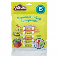 Масса для лепки Play-Doh Набор для праздника 15 мини-банок (18367)
