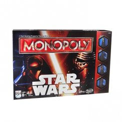 Монополия B0324 Монополия Hasbro Games Star Wars B0324