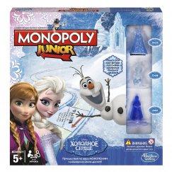 Монополия B2247 Настольная игра Hasbro Игры Monopoly Моя первая Монополия - Холодное сердце