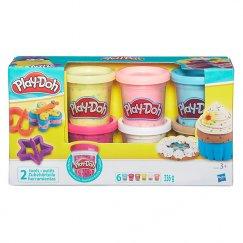 Набор Hasbro Play-Doh B3423 Игровой набор из 6 баночек с конфетти