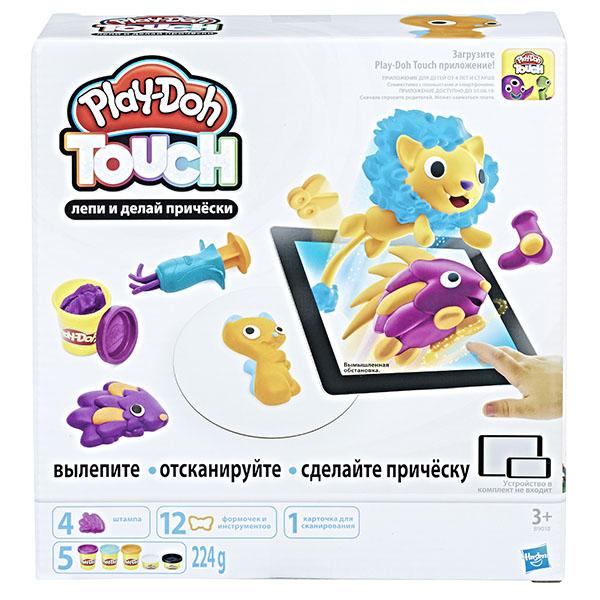 """B9018 Hasbro Play-Doh Игровой набор """"Лепи и делай причёски"""""""