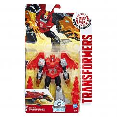 Трансформер Hasbro Transformers Твинферно. Воины (Роботы под прикрытием)