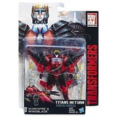 Трансформер Hasbro Transformers Виндблейд. Войны Титанов Дэлюкс (Трансформеры Дженерейшнс)