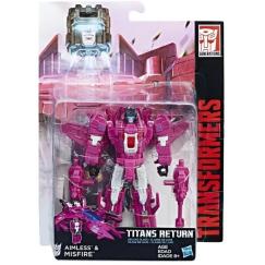 Трансформер Hasbro Transformers Мисфайр. Войны Титанов Дэлюкс (Трансформеры Дженерейшнс)
