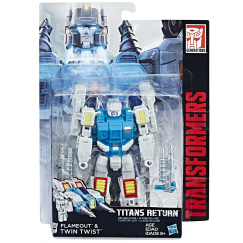 Трансформер Hasbro Transformers Твинтвист. Войны Титанов Дэлюкс (Трансформеры Дженерейшнс)