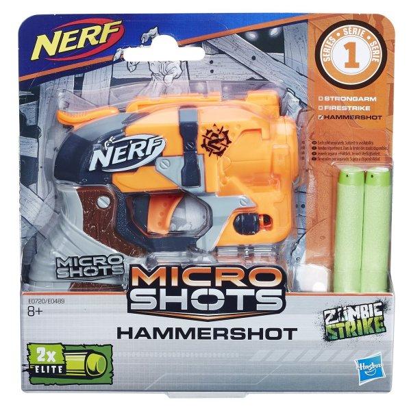Игрушка Hasbro Микрошоты класcические Хаммершот E0720/E0489