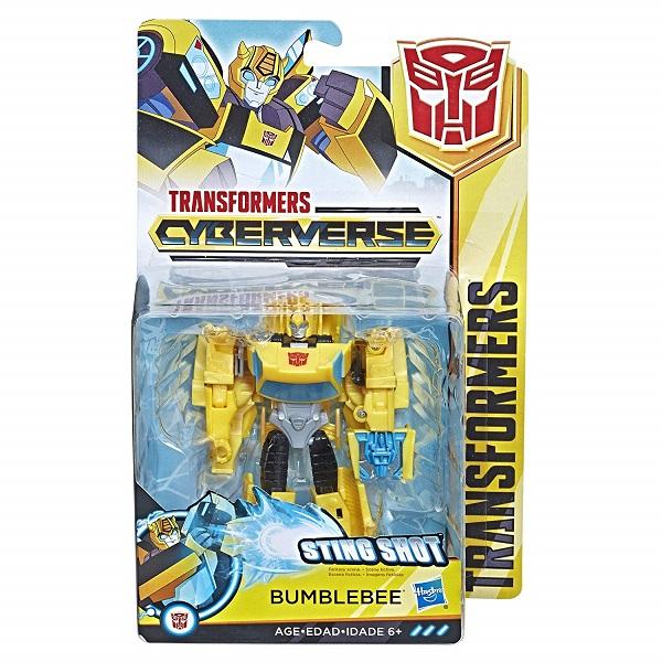 Трансформер Hasbro Transformers Кибервселенная Bumblebee Бамблби 14 см