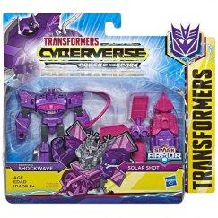 Hasbro Transformers E4219/E4300 Трансформеры КИБЕРВСЕЛЕННАЯ СПАРК АРМОР Шоквейв 13 см.