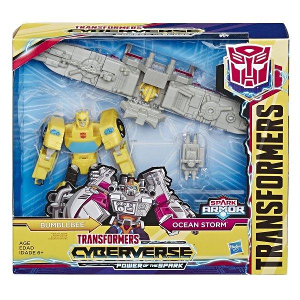 E4329/E4220 Hasbro Transformers E4220/E4329 Трансформеры Спарк Армор Бамблби 18 см