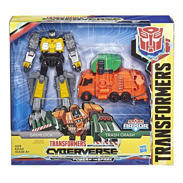 E4330/E4220 Hasbro Transformers E4220/E4330 Трансформеры Спарк Армор Глимрок 18 см