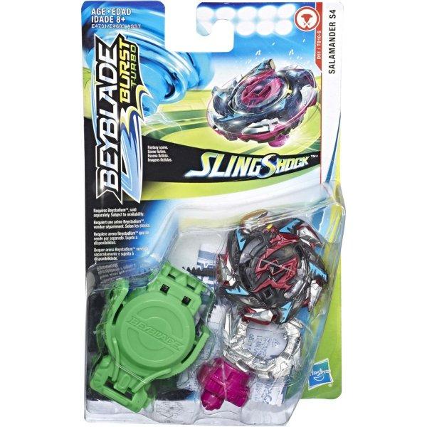E4731/E4603 Волчок Hasbro Bey Blade СлингШок E4731/E4603 с пусковым устройством Salamander S4