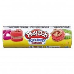 Масса для лепки Play-Doh Мини-сладости красный и коричневый (E5205/Е5100)