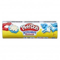 Масса для лепки Play-Doh Мини-сладости голубой и белый (E5206/Е5100)