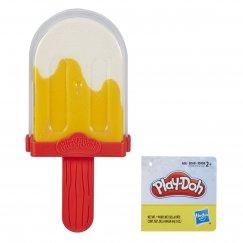 Набор для лепки из пластилина Play-Doh Мороженое бело-оранжевое для девочек
