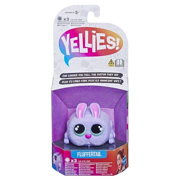 "E6143/E6118 Yellies Интерактивный кролик ""Fluffertail"" E6143/6118"