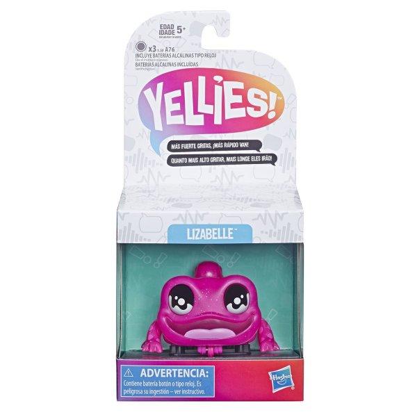 E6148/E6119 Игрушка Hasbro (Yellies) Ящерица Лизабелль интерактивная E6148/E6119