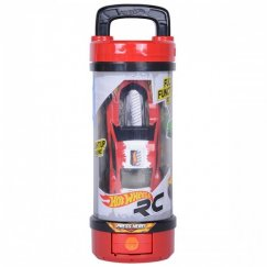 Машина Hot Wheels 90403 Хот вилс на батарейках свет+звук на ИК управлении, красная 13,5 см